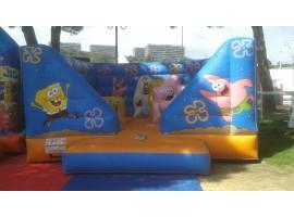 Bouncy Castle Sponge Bob Cannes